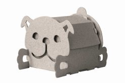 house box dog cardboard house