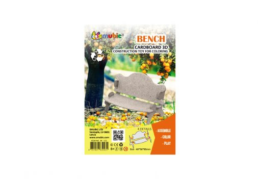 cardboard landscape element bench