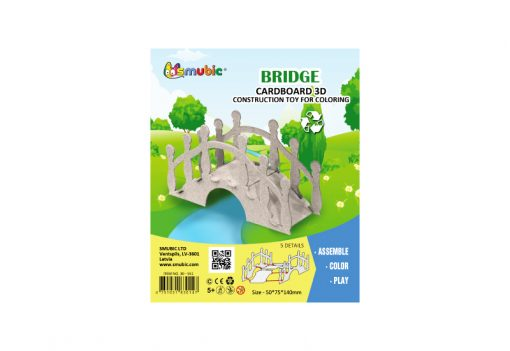cardboard landscape element bridge