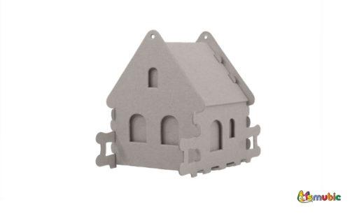cardboard house box Stone