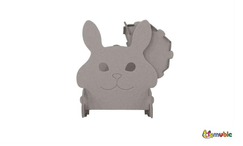 cardboard bunny chest