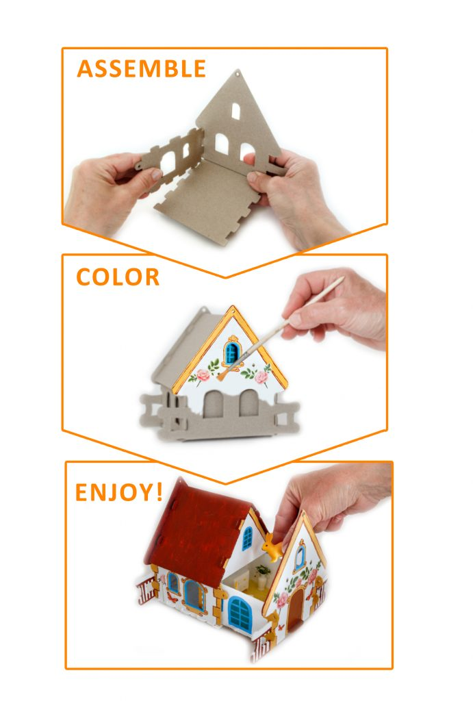 assemble color enjoy cardboard constructor Smubic