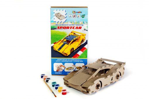 Set Racing car