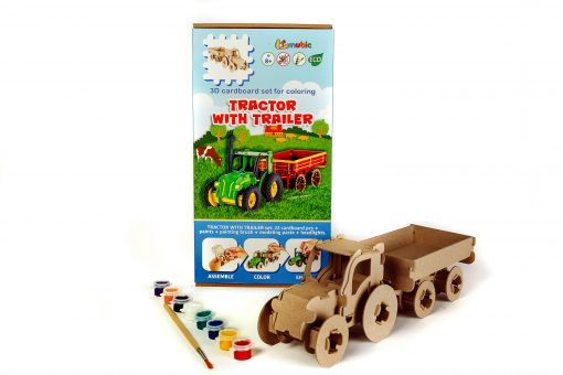 Set Tractor with trailer